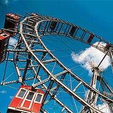 Prater Ferris Wheel - Vienna, Austria -Giant Ferris Wheel originally built in 1896