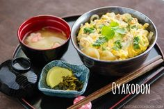 Oyakodon (Chicken and Egg Bowl) 親子丼 | Easy Japanese Recipes at JustOneCookbook.com