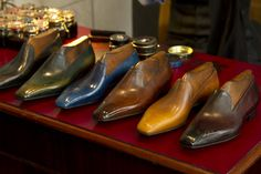 Gaziano & Girling would like to announce the launch of our own in house Patina Service, where you will be able to order any of our styles of shoes and have them personally coloured by our Patina. Best Looking Shoes, Toe Shape, Platform Shoes, How To Look Better, Oxford Shoes, Dress Shoes, Product Launch, Footwear, Loafers