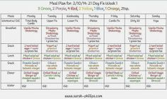 21 day fix, 21 day fix meal plan, 21 day fix recipes, 21 day fix breakfast, 21 day fix snacks, 21 day fix lunch, 21 day fix dinner