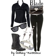 looking-marvelous outfits inspired by Marvel comic books.  Just cool.  Blade