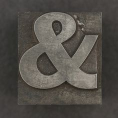 metal ampersand