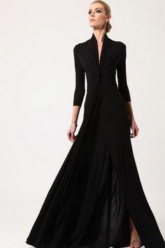 La elegancia del negro. Los mejores vestidos de fiesta, vestidos de noche y vestidos de día. Sé la invitada mejor vestida!! www.miboda.tips/