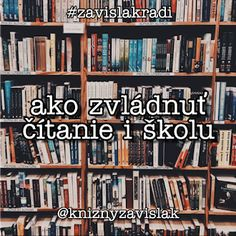 Ako zvládnuť čítanie i školu @knizny.zavislak Books, Livros, Book, Libros, Book Illustrations, Libri