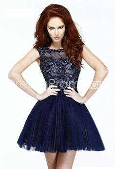 2014 New Arrival Homecoming Dresses A Line Sweetheart Tulle V Back