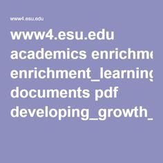 www4.esu.edu academics enrichment_learning documents pdf developing_growth_mindset.pdf