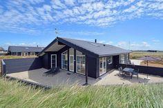 GJ98: Top bewertetes Ferienhaus für 8 Personen nah am Meer. 2 Badezimmer. Kaminofen. Haustiere nicht erlaubt. Ab 538 € pro Woche.