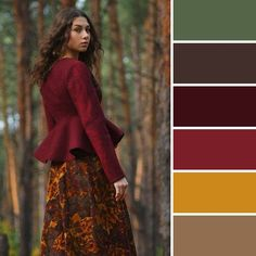 My favorite color palette (if you add navy) Fall Color Palette, Colour Pallette, Colour Schemes, Color Trends, Color Patterns, Color Combos, Colour Combinations Fashion, Color Combinations For Clothes, Fashion Colours