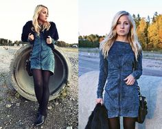 Minna M featuring Diesel dress, Helsinki #SuccessfullyStyled www.diesel.com/female