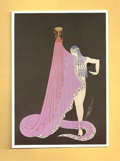 Costume by Erte for slave of Salome in Femmes by PLETHORAofSTUFF, $6.00