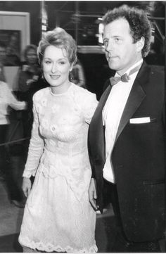 Meryl Streep with Don at the 1984 Academy Awards