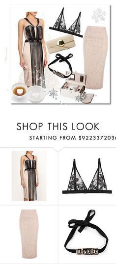 """Gifts: Sensuality"" by molnijax ❤ liked on Polyvore featuring Lost Ink, Leo Ventoni, Bluebella and Été Swim"