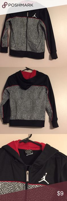 EUC Boy's Med Jordan Hoodie Boy's Size Medium Jordan Hoodie. Excellent condition. From a non-smoking home with no pets. BUNDLE2SAVE! 30% off two or more items. Jordan Jackets & Coats