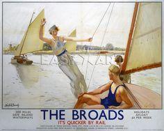 Affiche Vintage de voyage