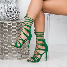 #green Womens Shoes