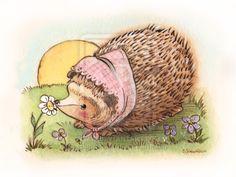 Hedgehog 4 by BlueBirdie.deviantart.com on @deviantART