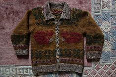 Ravelry: Cowichan Jacket pattern by Pierrot (Gosyo Co., Ltd)