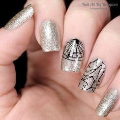 Nail Art by Belegwen: Avon Gold
