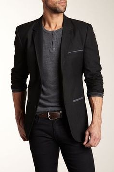 Modern jacket, European cut, jeans and a Michael Kors shirt and your set! #MensFashionEuropean
