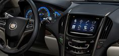 2013 ATS interior featuring the new CUE system