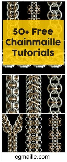 Chainmaille Tutorials