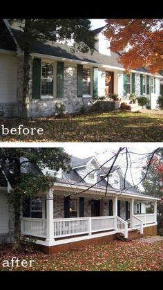 Love a front porch! From Country Living fb page.