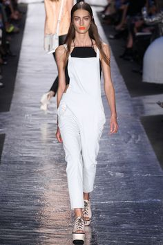 CROPTOP OVERALLS FOREVER. Rag & Bone Spring 2014 Ready-to-Wear Collection Slideshow on Style.com