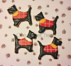 Dog cookies by OneSweetTreat.