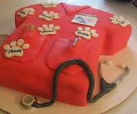 Vet Tech Cake @Michelle Roberts this is what I want for my Vet Tech Graduation :)