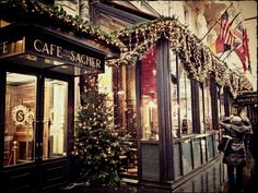 Cafe Sacher, Vienna, Austria -the ultimate kaffeehaus!! Can't wait to go back.....