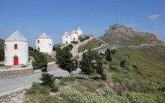 ΛΕΡΟΣ Greece Islands, Vivid Colors, Paradise, Scenery, Greek, Mansions, Country, House Styles, Travel