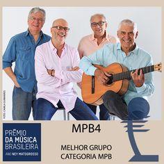 MPB4 é premiado no 28º Prêmio da Música Brasileira. O MPB4, foi um dos premiados do28ºPrêmio da Música Brasileirana categoria de melhor grupo vocal. Há m