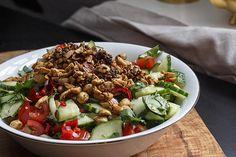 [Indische Woche] Chucumber - Gurkensalat mit Tomate und Erdnüssen   Foodina