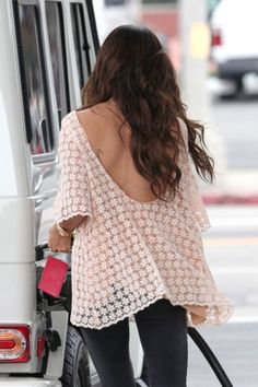 Alright, I love low-back tops like these. But does anyone know the secret of what kind of bra to wear with them?? It's plaguing me!
