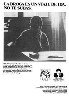 """Destruyamos la droga en familia""-1988"