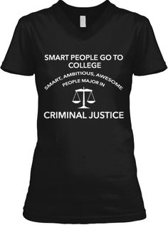 Limited Edition Criminal Justice Tees