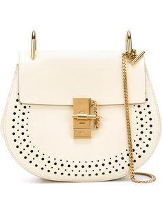 CHLOÉ 'Drew' Shoulder Bag. #chloé #bags #shoulder bags #leather
