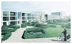 Voor(t)zetEuropan 2009 for a 'Bloemkoolwijk' near The Hague : spaceandmatter