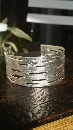 Check out this item in my Etsy shop https://www.etsy.com/il-en/listing/264109839/sterling-silver-hammered-bangle