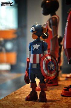 Captain America - coolrain x seman10cm