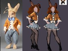 The March Hare costume design! For my Wonderland Tea Party birthday :] @Kelly Teske Goldsworthy Teske Goldsworthy