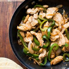 Quick and Easy Chicken Fajitas   Food & Wine