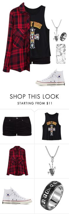 """Untitled #578"" by breemanor ❤ liked on Polyvore featuring Topshop, Converse, Casetify, women's clothing, women's fashion, women, female, woman, misses and juniors"