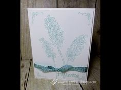 www.frenchiestamps.com - Heping me Grow for stamp on the go with only one color ink. Simple and clean supplies and more info on my blog April 6 2016 at http:...
