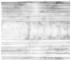 """Bridge"" Graphite on tracing paper drawing by Seoul-based artist Jieun Jang. #UpriseArt"