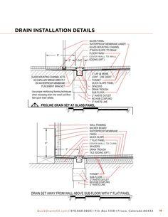 QuickDrain-USA-Info-Brochure-21 Usa Info, Linear Drain, Shower Fittings, Floor Finishes, Glass Panels, Flooring, Wood Flooring, Floor