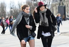 PARIS Tommy Ton Shoots Street Style at the Fall 2014 Fashion Shows