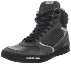 Shop Men's G-Star RAW High-top sneakers on Lyst. Track over 190 G-Star RAW High-top sneakers for stock and sale updates. Walk In My Shoes, Me Too Shoes, G Star Men, High Top Sneakers, Sneakers Nike, Fashion Collage, Grey Leather, Sneakers Fashion, Air Jordans