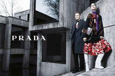 PRADA FW 2014 | STEVEN MEISEL. M: Mica Arganaraz, Karl Kolbitz. http://www.harpersbazaar.com/fashion/fashion-designers/best-ads-fall-2014#slide-7