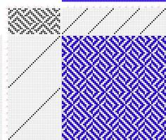 draft image: 16300, 2500 Armature - Intreccio Per Tessuti Di Lana, Cotone, Rayon, Seta - Eugenio Poma, 16S, 32T
